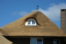 Dakkapel in nieuw rieten dak Stokkum